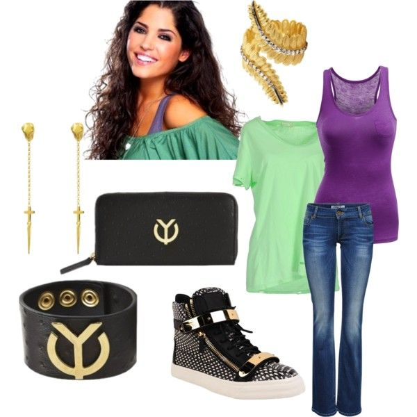 """""""Look a like: Yolanthe Sneijder-Cabau"""" by agneslaurens on Polyvore"""