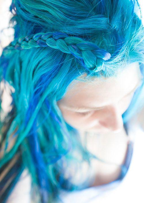 Manic Panic - Atomic Turquoise, Voodoo Blue