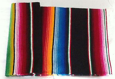 Mexican Mini Sarape Southwestern Tablecloth Saltillo 3 Choose Color | eBay