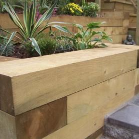 Railway Sleepers - Buy Reclaimed & New Railway Sleepers Online | UK Sleepers Timber Merchant