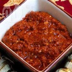 Photo recette : Harissa tunisienne maison