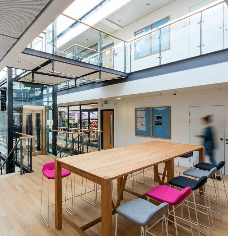 Superb Blockbuster Office Design For AMC Networks