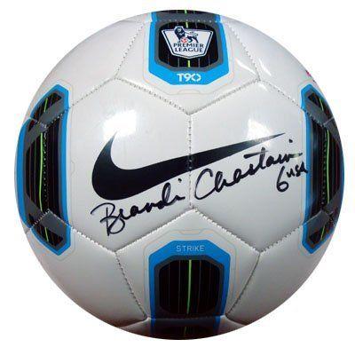 Brandi chastain soccer ball