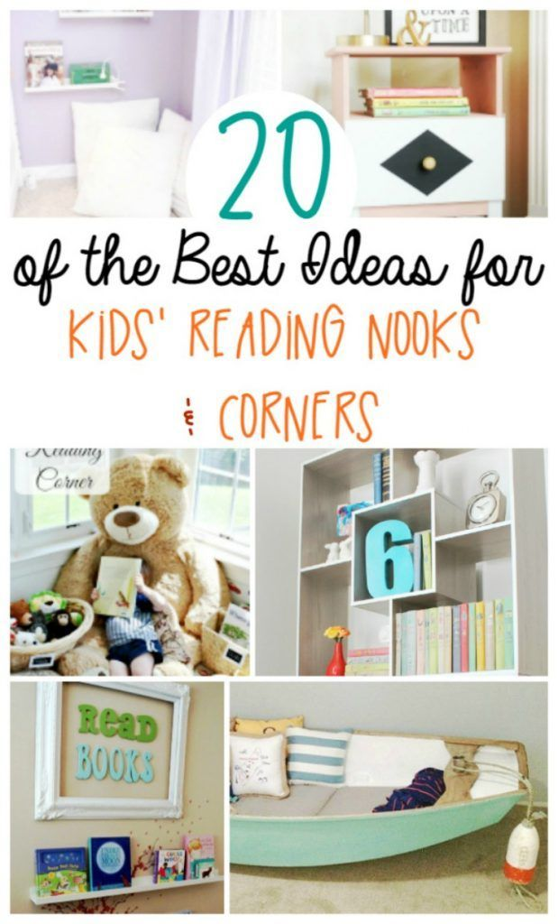 20 Kids Reading Nook Ideas That Everyone Will Love Reading Nook