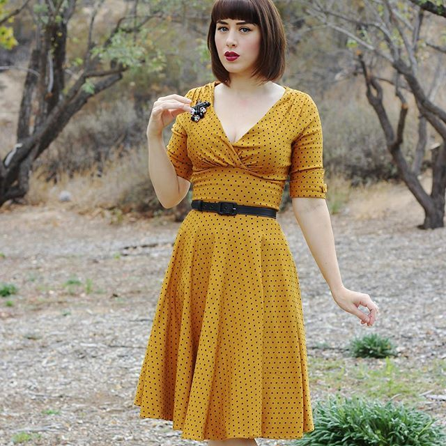 The first official dress of #Fall. (