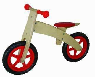 GoGo! Balance Bike by Smart Gear. $49.99. Limited steering radius to prevent jackknifing. Adjustable seat height to grow with your child. Eco-Friendly: Made in China with wood harvested from a replenishable source, strictly using Non-Toxic Paints, Dyes and Lacquers and Formaldehyde Free Glue. Packaging is made from at least 70% recycled paper.. Rubberized handle bar grips. Pneumatic Rubber Tires with extra long tube valves. Smart Balance Bikes by Smart Gear, often r...