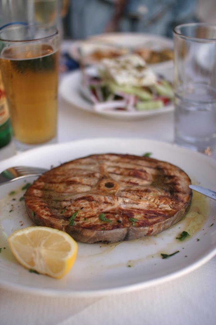 Restaurant Sunset Fish Tavern - Oia, Santorini, Greece