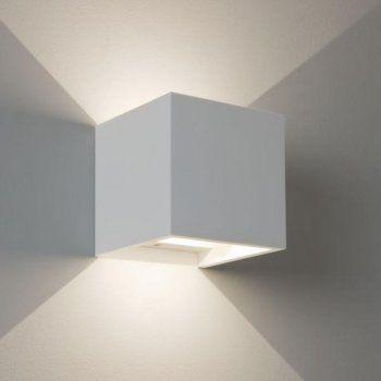 Astro Lighting 7152 Pienza LED Wall Light in White Plaster