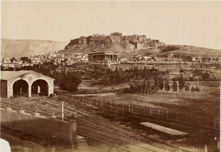 https://flic.kr/p/TrKFY4 | Άποψη του Θησείου και της Ακρόπολης | Μεταξύ 1871 και 1896 gallica.bnf.fr/ark:/12148/btv1b8451507c/f65.item.r=Vues%2... Μέσα από το άλμπουμ: gallica.bnf.fr/ark:/12148/btv1b8451507c.r=Vues%20de%20Lyo...
