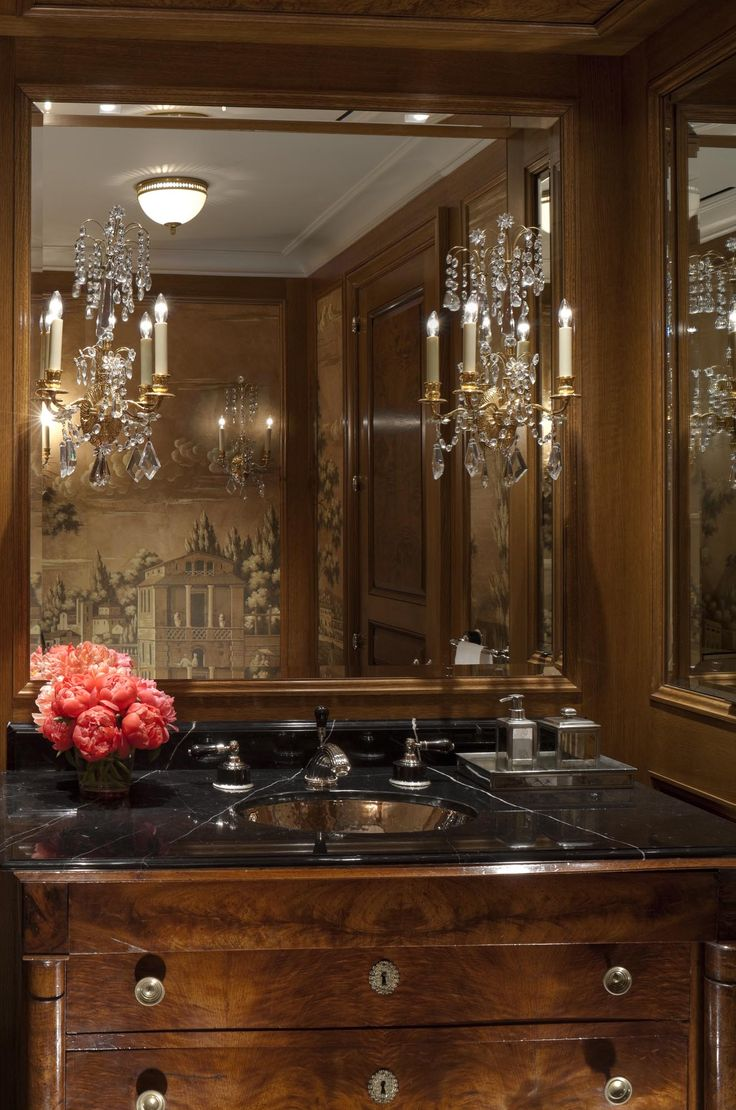 594 Best Powder Rooms Images On Pinterest | Bathroom Ideas, Powder Rooms  And Room