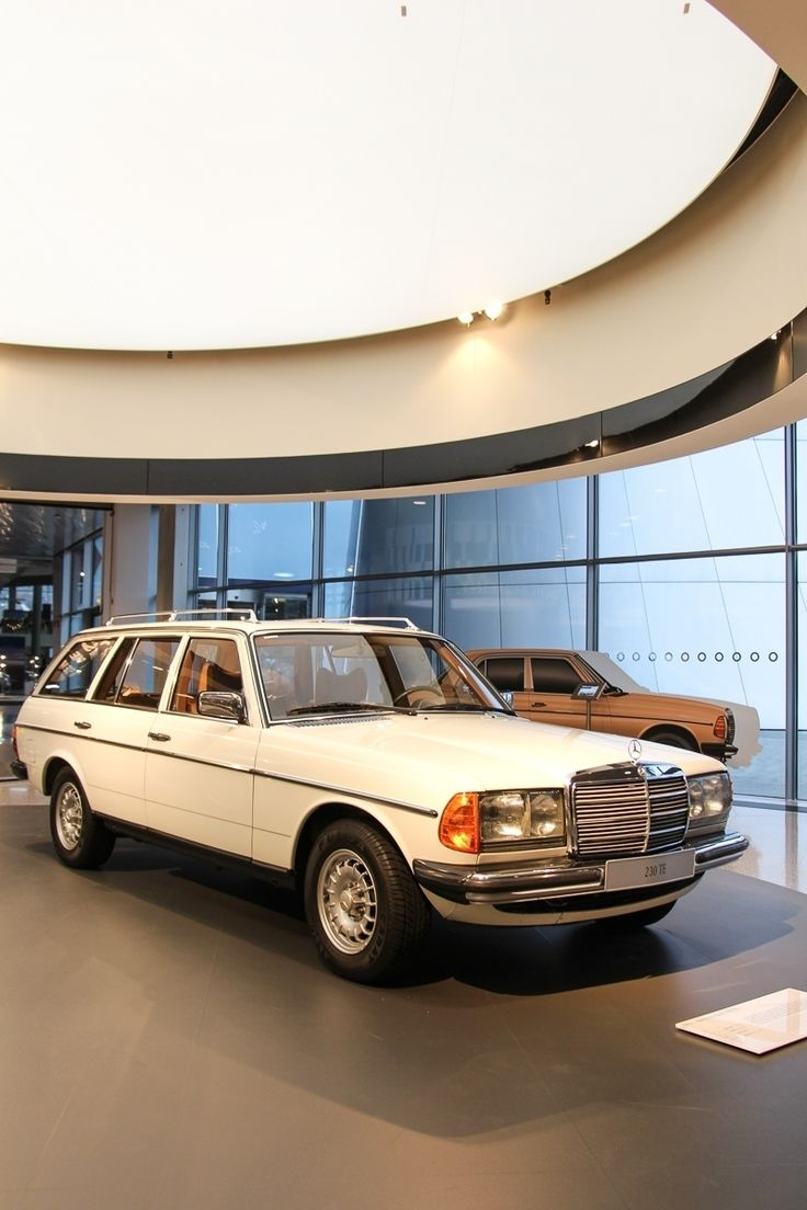 """When Mercedes introduced its first station wagon in 1978, it marked the end of the commercial vehicle image of this type of car. """"T"""" expressed the change: T for Tourism and Transport! This is the 1985 Mercedes-Benz 230 TE   Photo by @JensStratmann."""