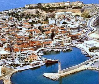 The old port of Rethymnon