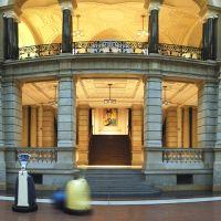 Museum für Kommunikation Berlin mit wechselnden Sonderausstellungen Montags geschlossen