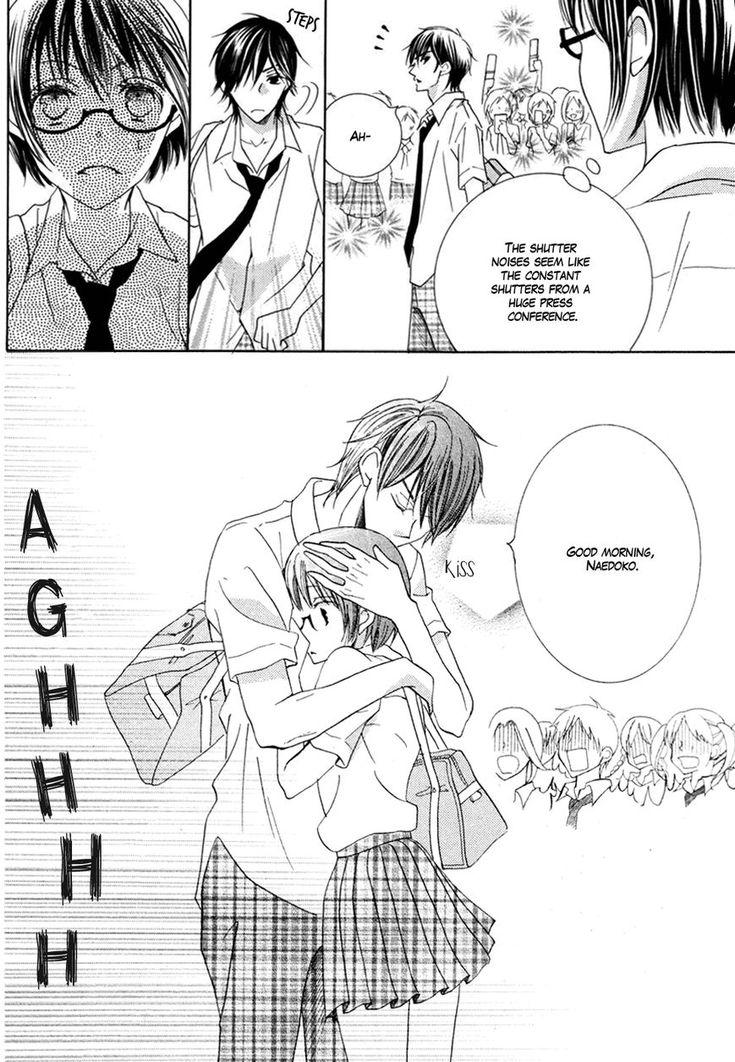 Koi Dano Ai Dano 18 Page 8. Tsubaki-kun, stop being so adorable.