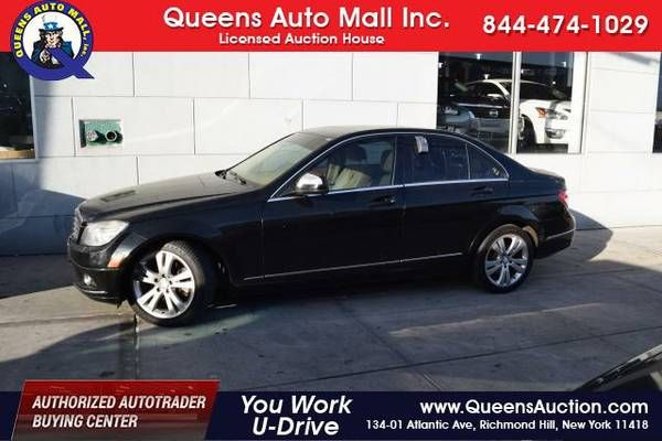 2008 Mercedes-Benz C-Class – *YOU WORK YOU DRIVE* (Bad Credit? No Problem!) $7980