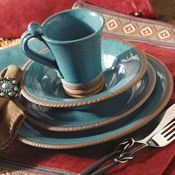 crowe's nest dinnerware | Bold Southwestern Dinnerware-Rustic Dinnerware, Earthenware, and ...