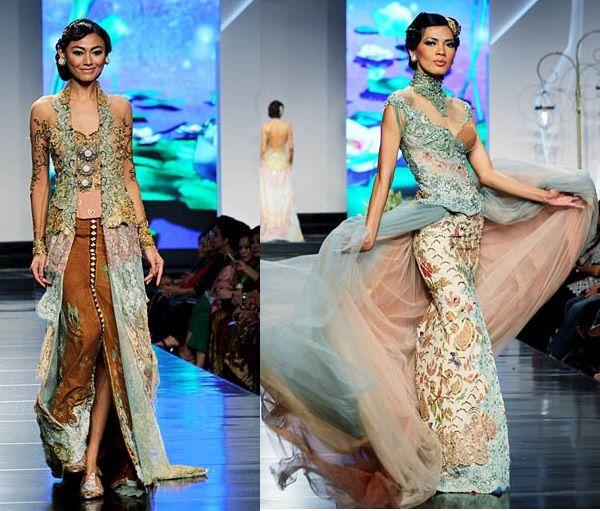contemporary kebaya   Indonesian Beautiful Kebaya Lace Modern