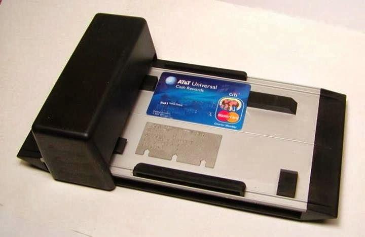 É da sua época?: [1980] Máquina de Cartão de Crédito