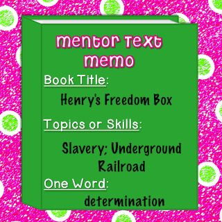 Henrys Freedom Box And The Other Side Soc