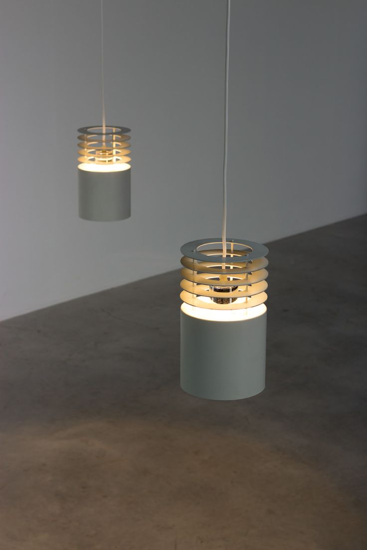 Pair Jo Hammerborg off white ceiling lamps Fog and Murop | http://www.furniture-love.com/browse.php | From selection of important 20th century modern furniture. -- Great Christmas Holiday Gift