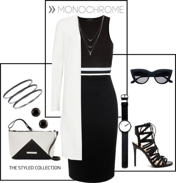 MONOCHROME - styling the trend