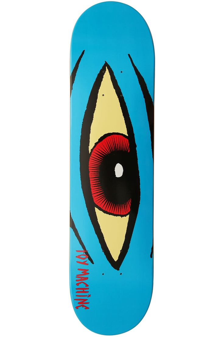 Toy Machine Sect Eye Blue | Skate Board | Pinterest | Toys ...