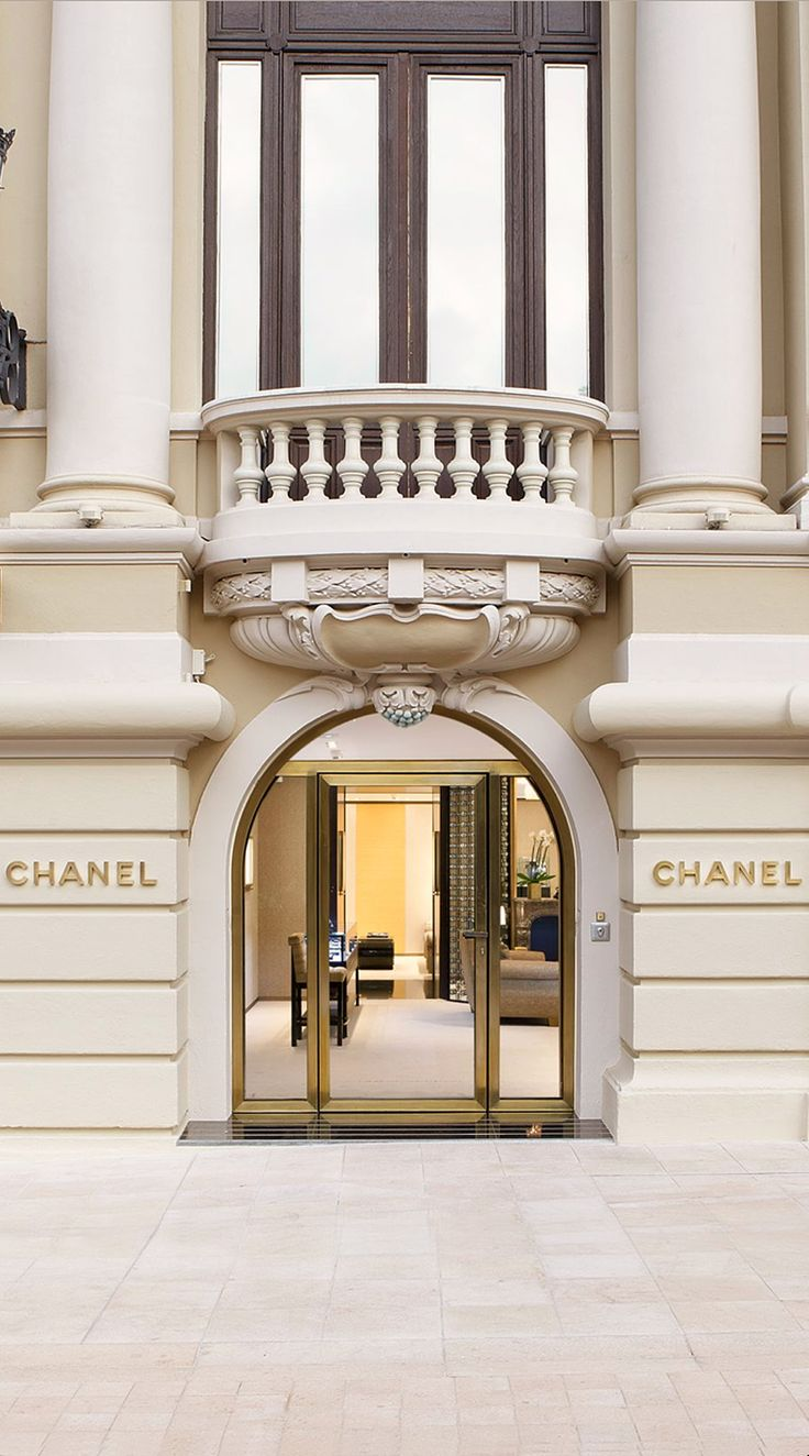 A Must - stopping by the Chanel Boutique in Monte Carlo when I'm in town.