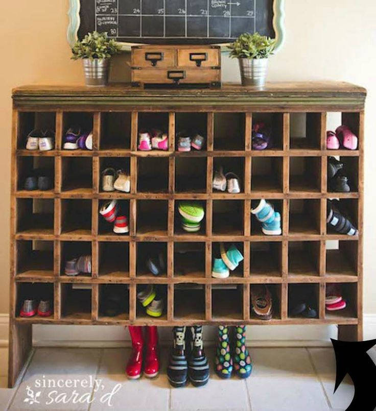 10 Shoe Storage Ideas To Keep You Sane Shoe Cubby