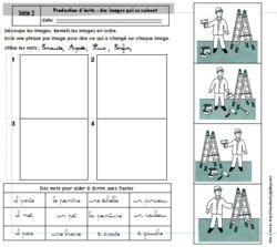 Production ecrit CP : décrire des images