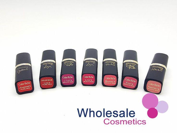 Wholesale Cosmetics - 24 x L'Oréal Color Riche Collection Exclusive Lipsticks - Assorted