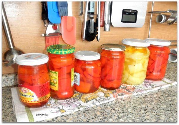 Kapia v oleji a sladkokyslom náleve bez sterilizácie (fotorecept) - obrázok 2