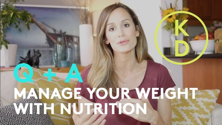In this video, holistic nutritionist Kim D'Eon answers questions about managing weight in a holistic way. Questions include: - can I eat carbs? - will health...