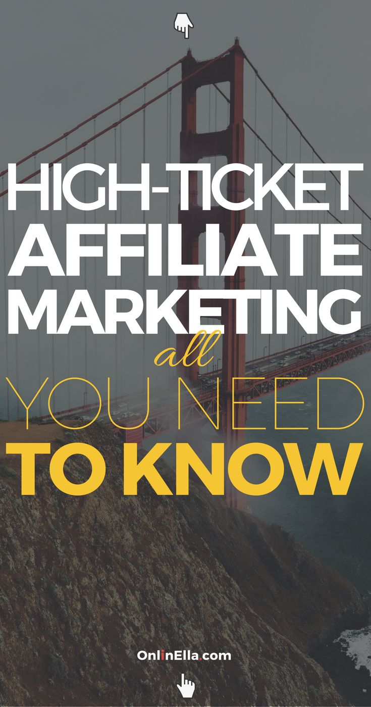 If your goal was to make $10,000 each month, would you rather do it by selling 1,000 products each month which paid out a $10 commission each, or, would you rather sell 10 products that paid you a $1,000 commission each? So, let's talk about high-ticket affiliate marketing.