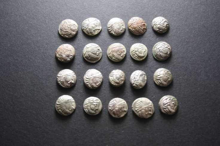 Celtic Silver coins ,Rare coins,mix of Tribe-Hoard 20coin.