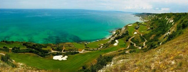 Breathtaking view of the Bulgarian Black Sea coast! One of our favourite escapes!