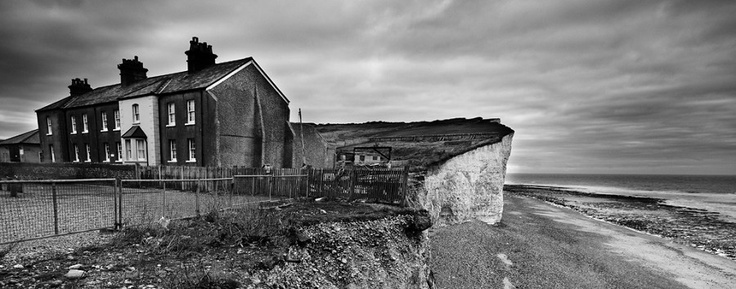 Birling Gap, Joe Bogar Photography    For more about the disappearing cottages: http://www.bbc.co.uk/news/uk-england-sussex-11251995
