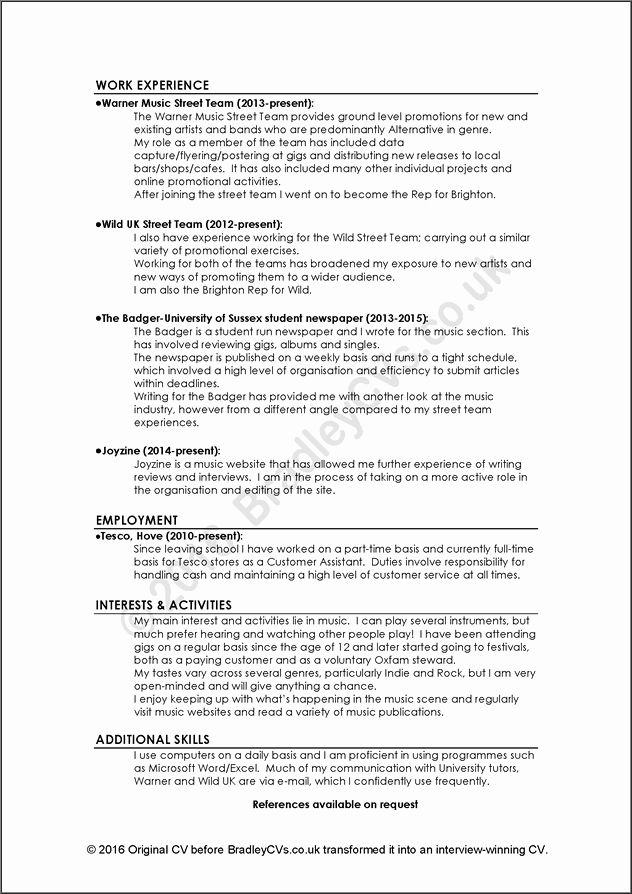 23 Example Of A Bad Resume in 2020 Resume examples
