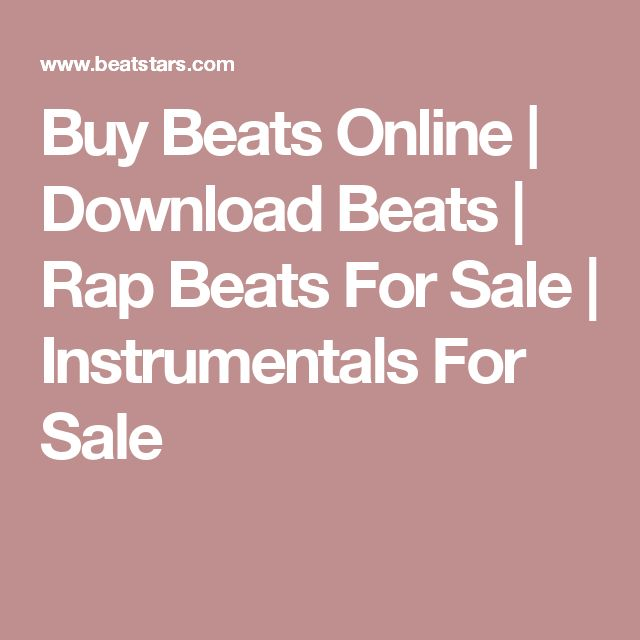 22 best sell beats images on pinterest beats to sell and a website buy beats online download beats rap beats for sale instrumentals for sale fandeluxe Choice Image