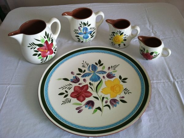 Stangl ~ Country Garden Platter and 4 Pitchers & 44 best Stangl Pottery images on Pinterest | Google images ...