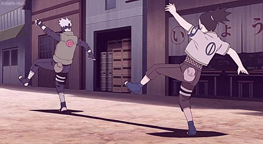 Hatake Kakashi and Nara Shikamaru. Lmao shikamaru you better run hella fast after this lmao
