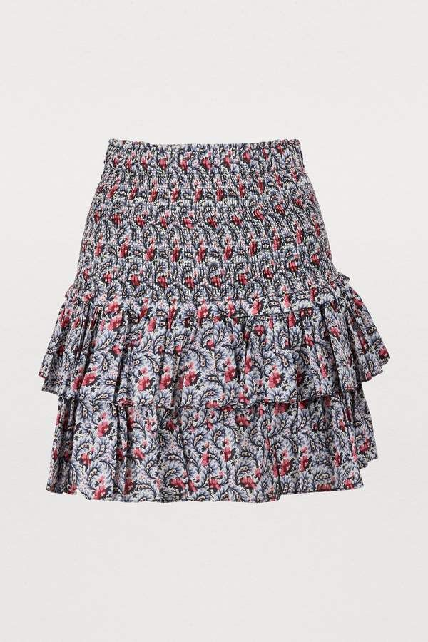0ca0afc72f Etoile Isabel Marant Naomi cotton skirt in 2019 | Photo shot ...