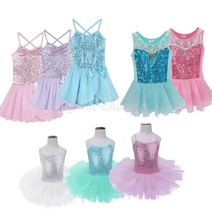 cool Girl Kids Ballet Dance Dress Leotard Sequined Tutu Skirt Party Dancewear Costume   Check more at http://harmonisproduction.com/girl-kids-ballet-dance-dress-leotard-sequined-tutu-skirt-party-dancewear-costume/