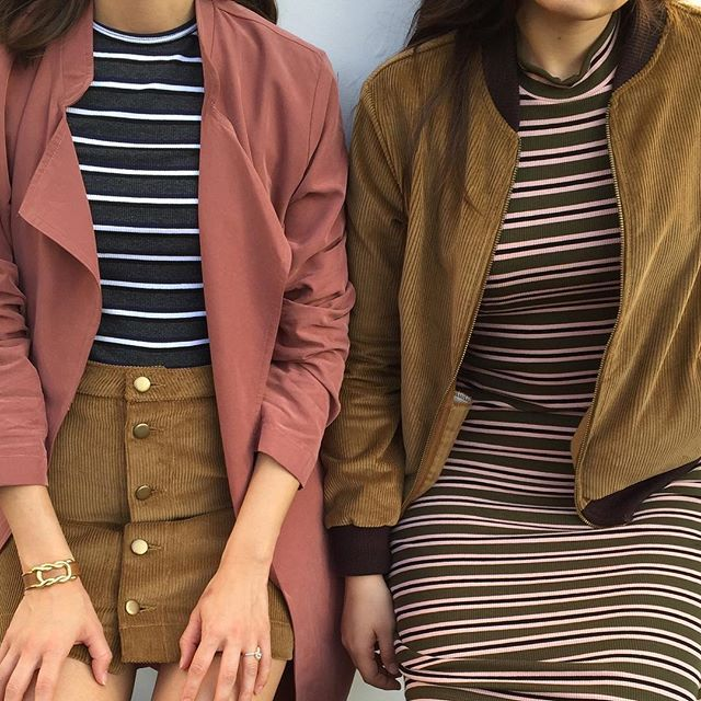 Fall stripes #AmericanApparel #aafall