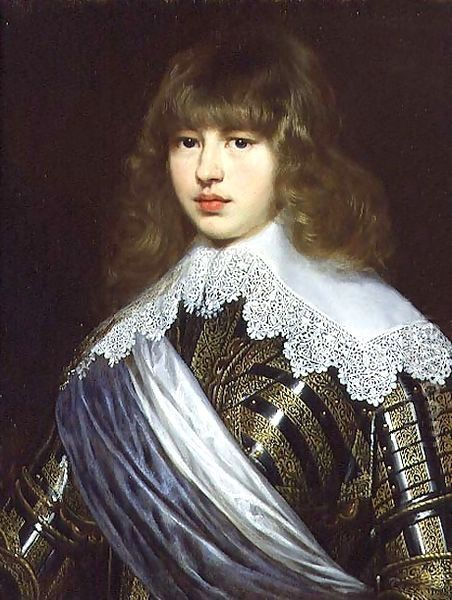 Prince Waldemar Christian Of Denmark by Justus Sustermans (1597-1681, Belgian)