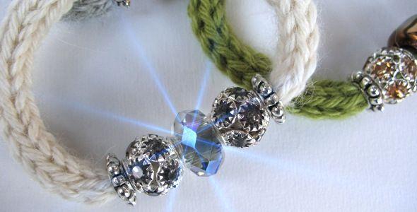 Gioielli in lana  <3