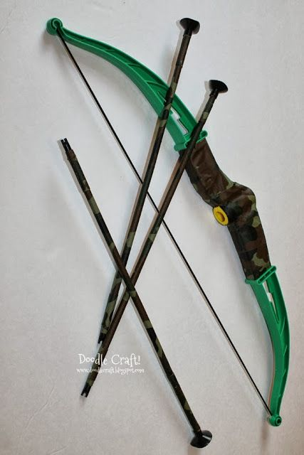 Update a Cheap Bow and Arrow set with Duct Tape!