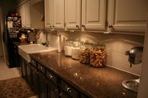 Best Dark Brown Lower Cabinets With White Upper Cabinets 400 x 300
