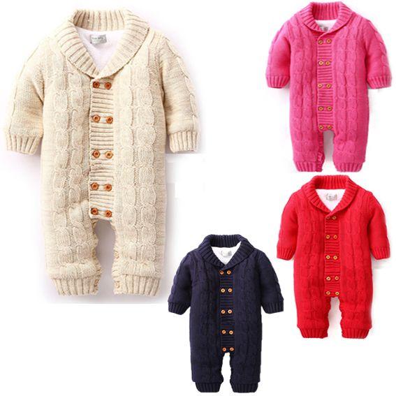 Del algodón del bebé juego de una pieza meninos menina roupas mameluco largo de la manga bebé infantil caliente del invierno con capucha del mono sobretodo para recién nacido