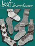 Knit Sock Patterns for Men and Women - Vintage Sock Knitting Patterns - Socks for Men - Socks for Women