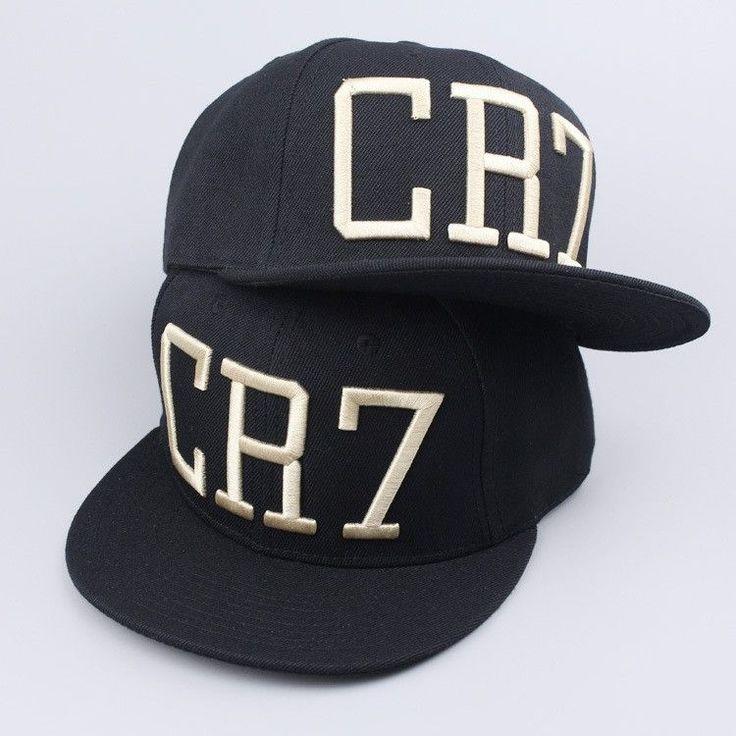 2 Colors 2015 Cristiano Ronaldo CR7 Black Blue Baseball Caps hip hop Sports Snapback Football hat chapeu de sol bone Men women
